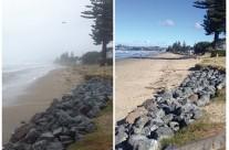 Orewa Beach, Cyclone Lusi 15 March 2014