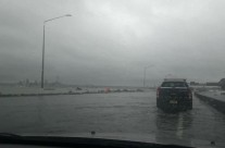 Northern Motorway SH1, King Tide 5.1.18