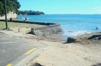 Mairangi Bay Boat Ramp, Auckland King Tide 02022014