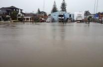 Milford Marina, King Tide 31.9.15