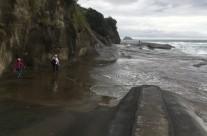 Muriwai Beach, King Tide 29.3.17