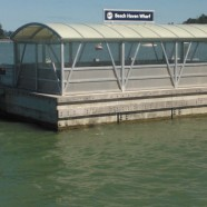 Beach Haven Wharf, Auckland King Tide 02022014