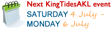 Next King Tide event