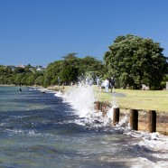 Snells Beach, Auckland King Tide 02022014