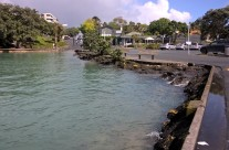 Takapuna Boatramp, King Tide 17.11.16