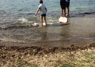 Little Shoal Bay, King Tide 14.1.17