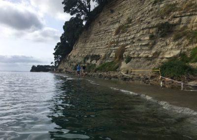 Campbells Bay Coastal Path, King Tide 14.1.17