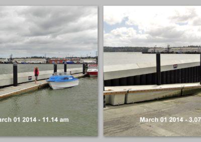 Manukau Harbour, King Tide 1 March 2014