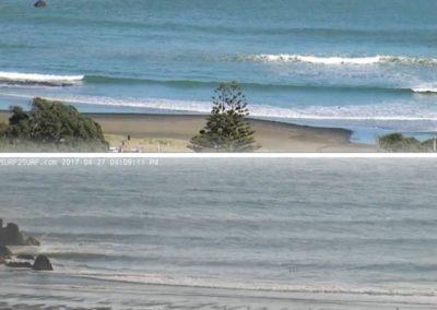 South Piha, King Tide 27.4.17