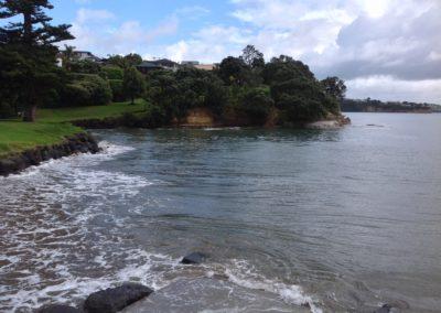 Boatramp Rothesay Bay Beach, King Tide 16.11.16